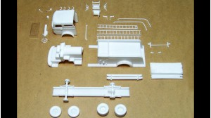Mack C-95 Fire Pumper Kit Fender Body